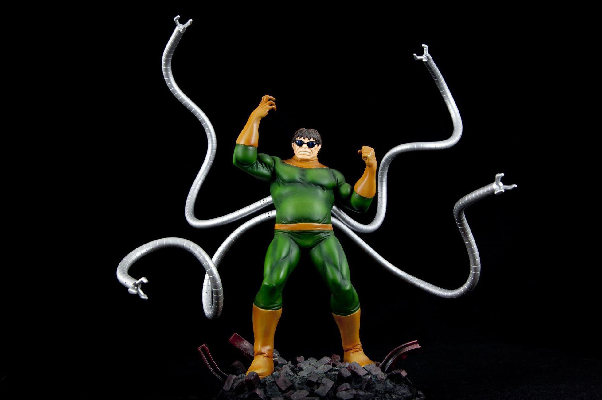 Doctor Octopus Statue | Action Figure | Pinterest