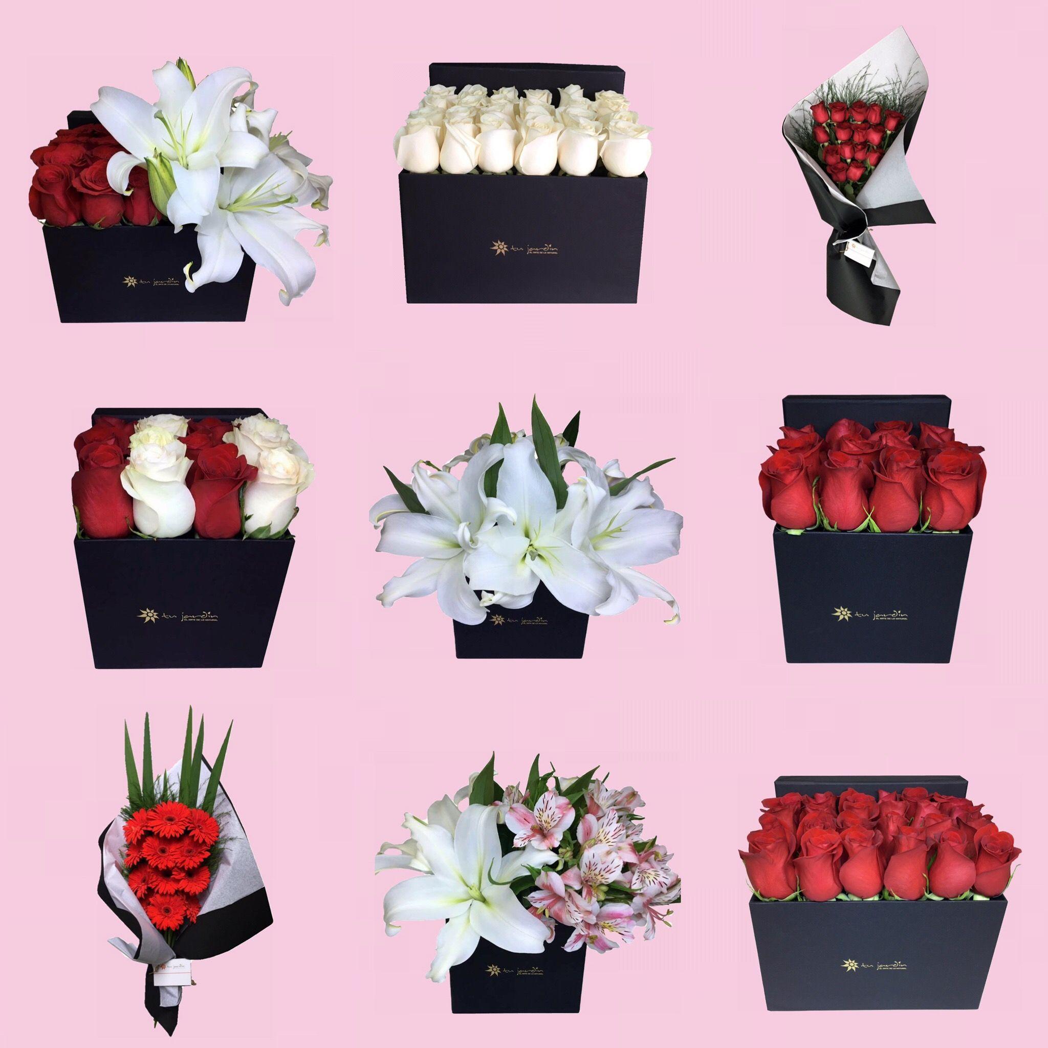 Flores en Caja Tu Jardín! La mejor floreria de Buenos