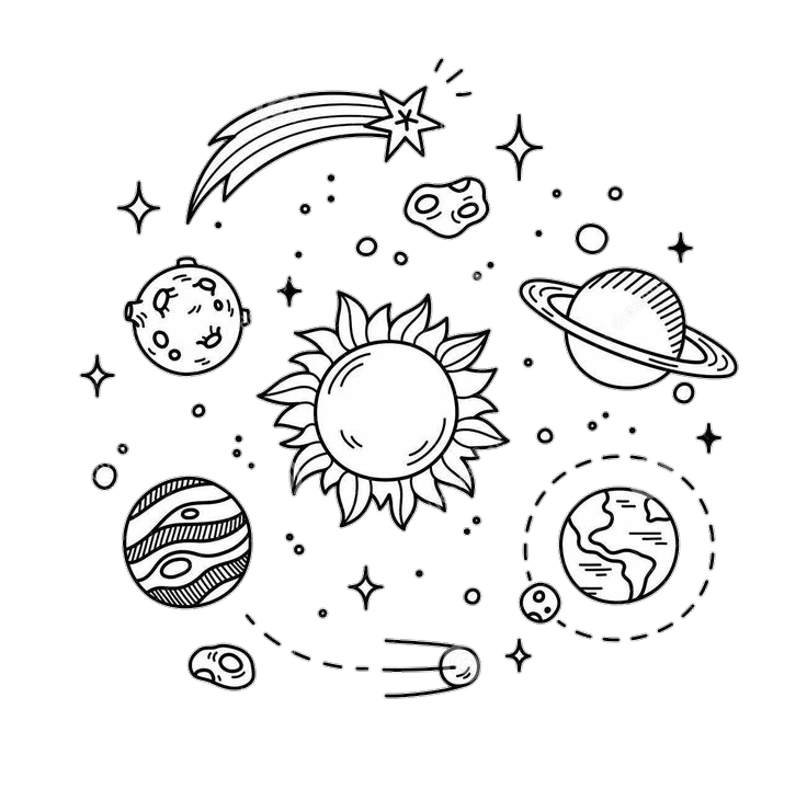 Freetoedit Pink Girls Kawaii Cute Tumblr Dreams Girls Love Planet Sun Space Stars Moon Remixi Space Drawings Planet Drawing Sketch Book