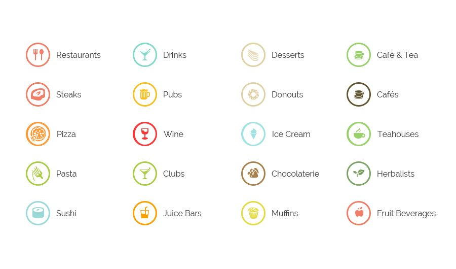 Free to download 20 icons we used in our wordpress theme