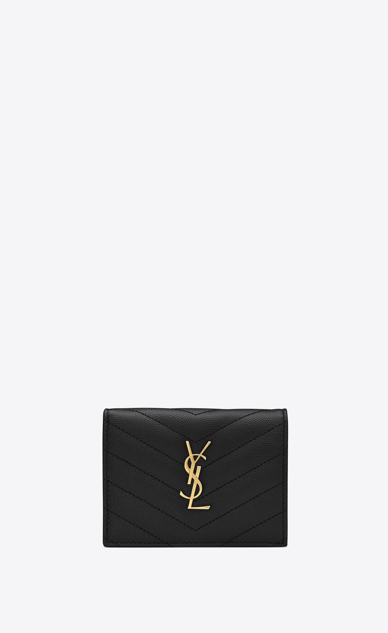 big sale 95f03 955e2 Monogram card case in grain de poudre embossed leather in 2019 ...