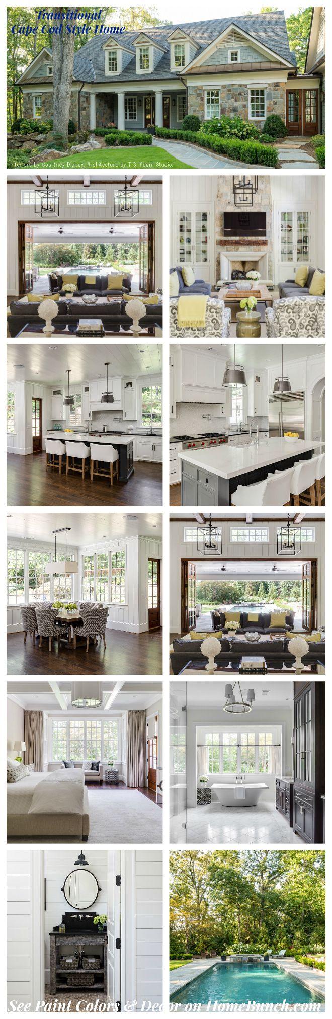 Cape Cod Decorating Ideas Part - 41: Cape Cod House Style Ideas And Floor Plans ( Interior U0026 Exterior )