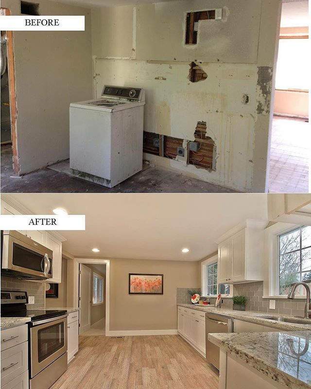 Discount Kitchen Cabinets Seattle: We Love Taking Down Walls...check Out This Open Concept