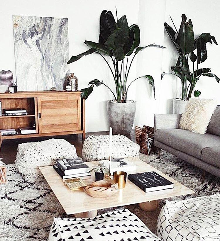 White Black Neutral Love Small Living Room Decor Living Room Designs Room Inspiration #no #rugs #in #living #room