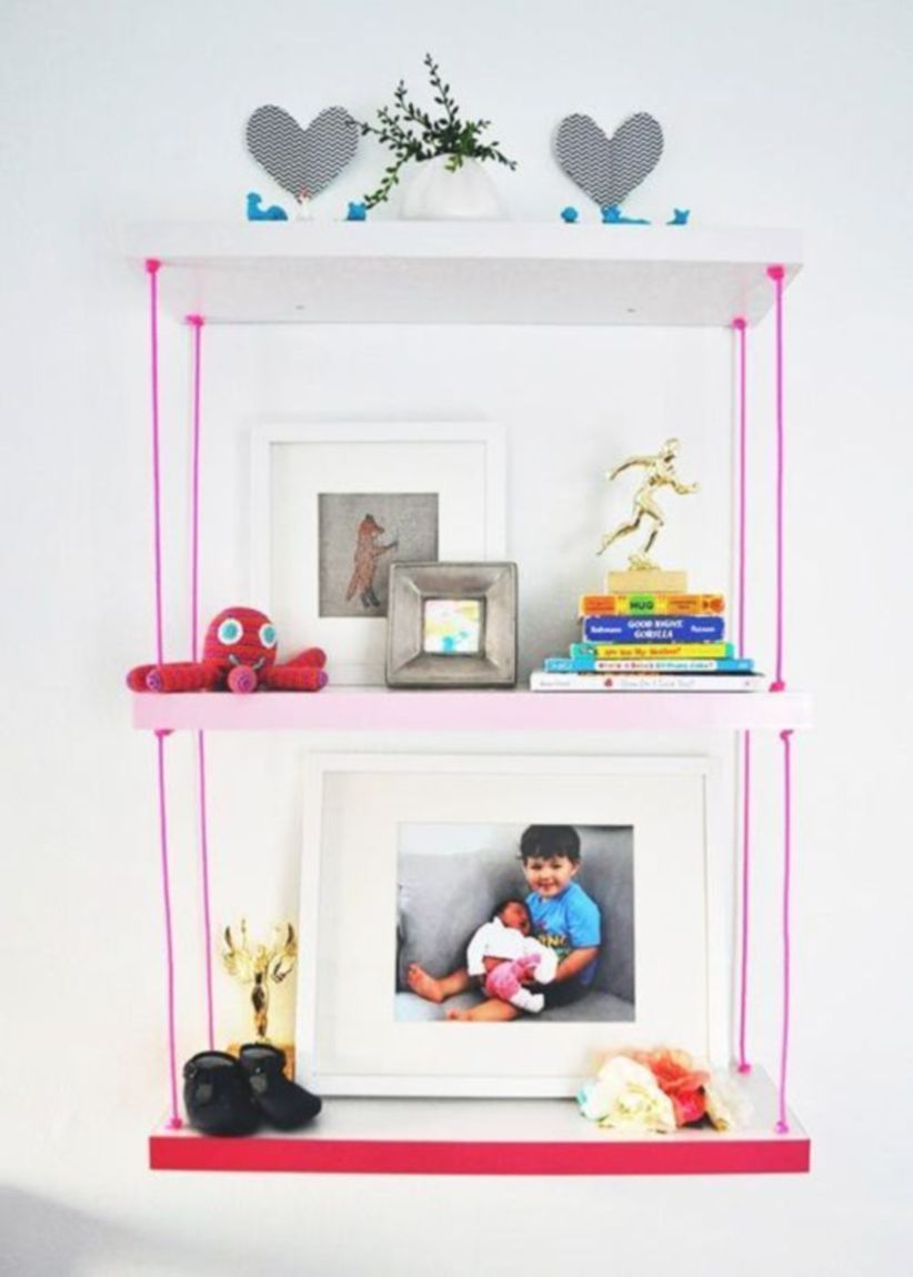46 diy hanging shelves for simple decoration and