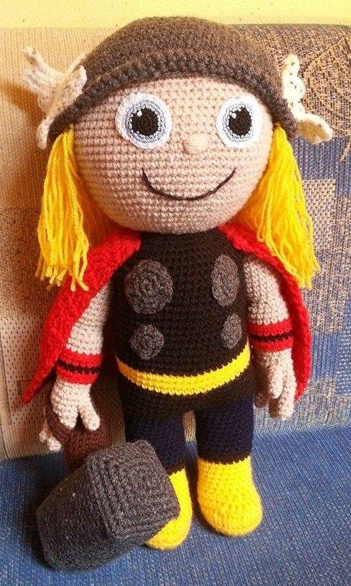 Häkelfieber: Thor | Häkeln Puppen | Pinterest | Gehäkelte puppen ...