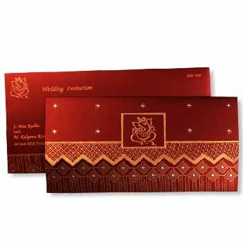 Indian Wedding Invitation Cards, Marriage Invitations, Wedding ...