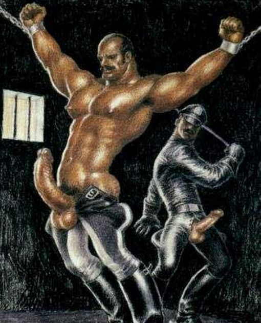 A batch of excellent gay bdsm toons with brutal spies!