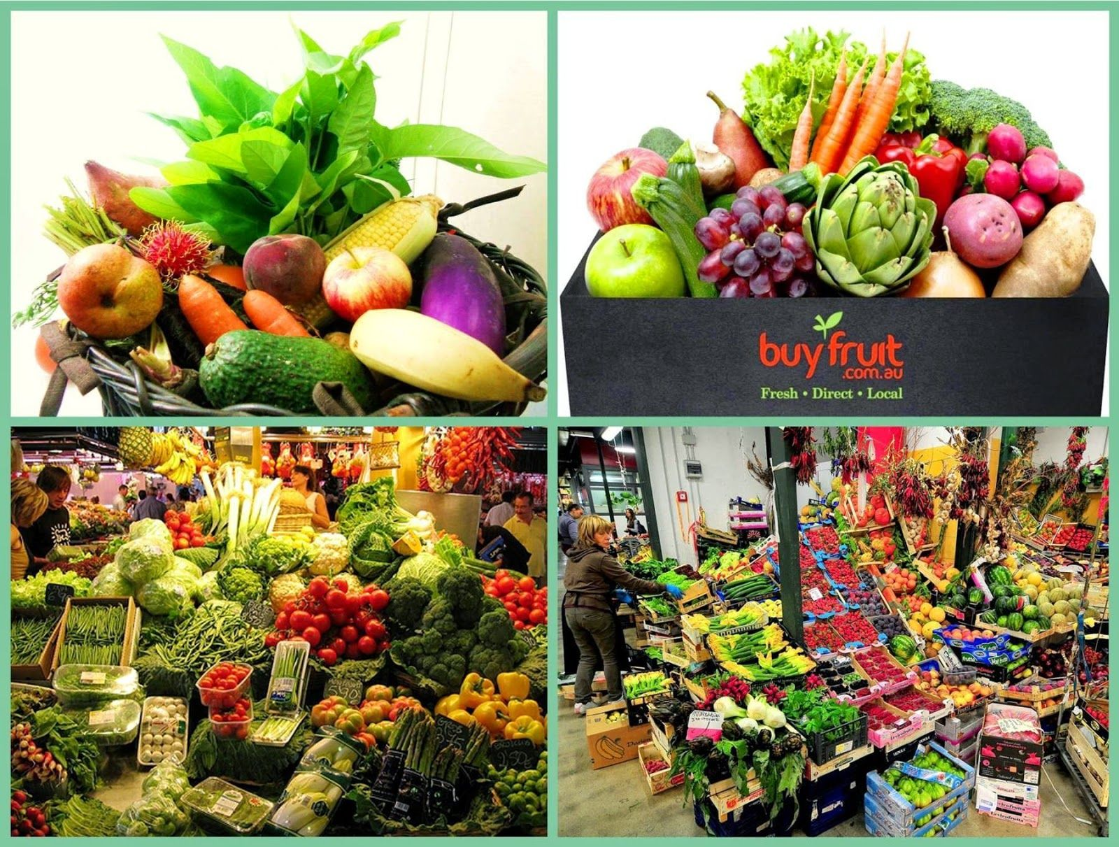 Fruit And Vegetable Trader
