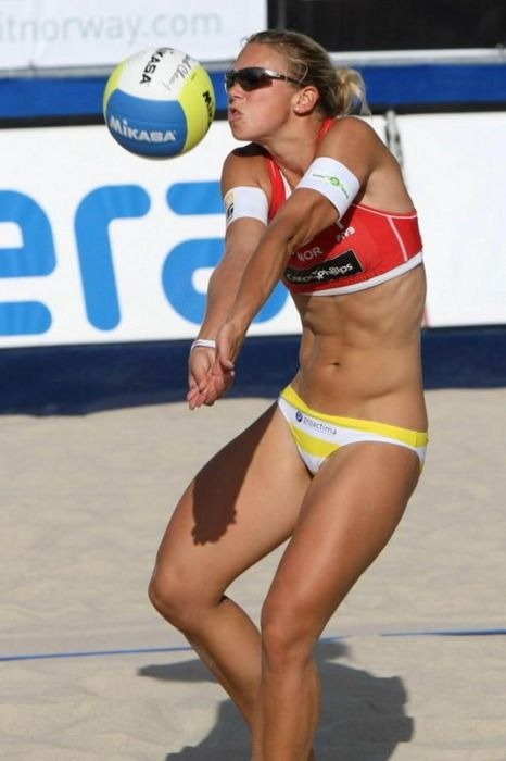 Beach Volleyball Players Have The Best Bos Love Motivation