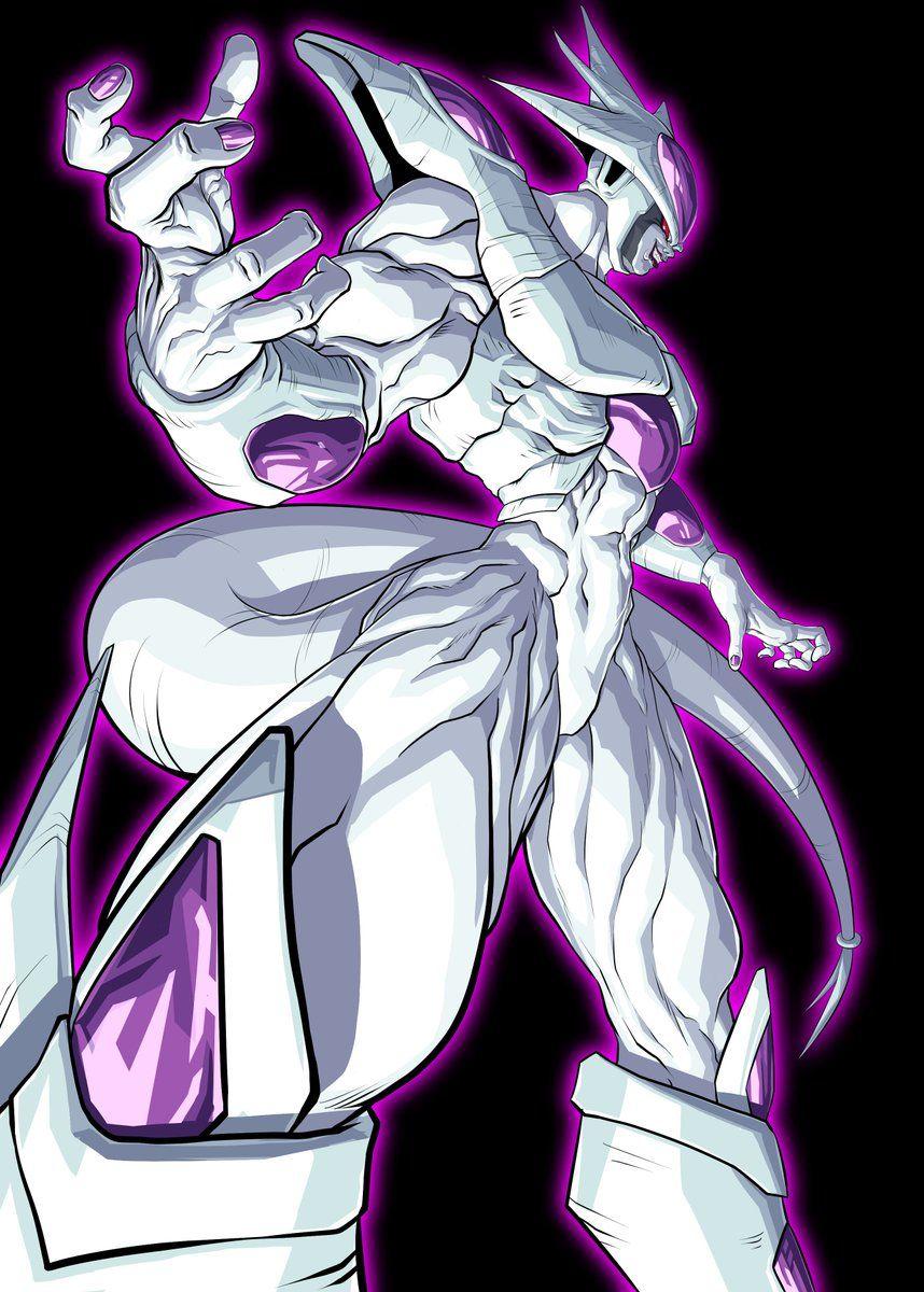 Frieza Ultimate Form Dragon Ball Dragon Ball Artwork Dragon Ball Super Manga