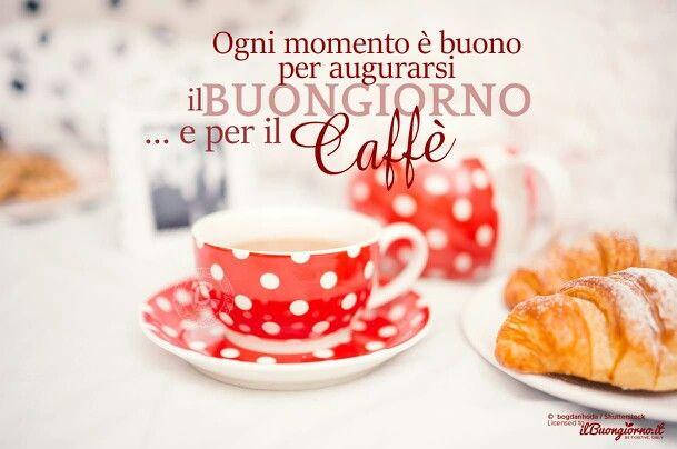 Iniziamo con un caffé...