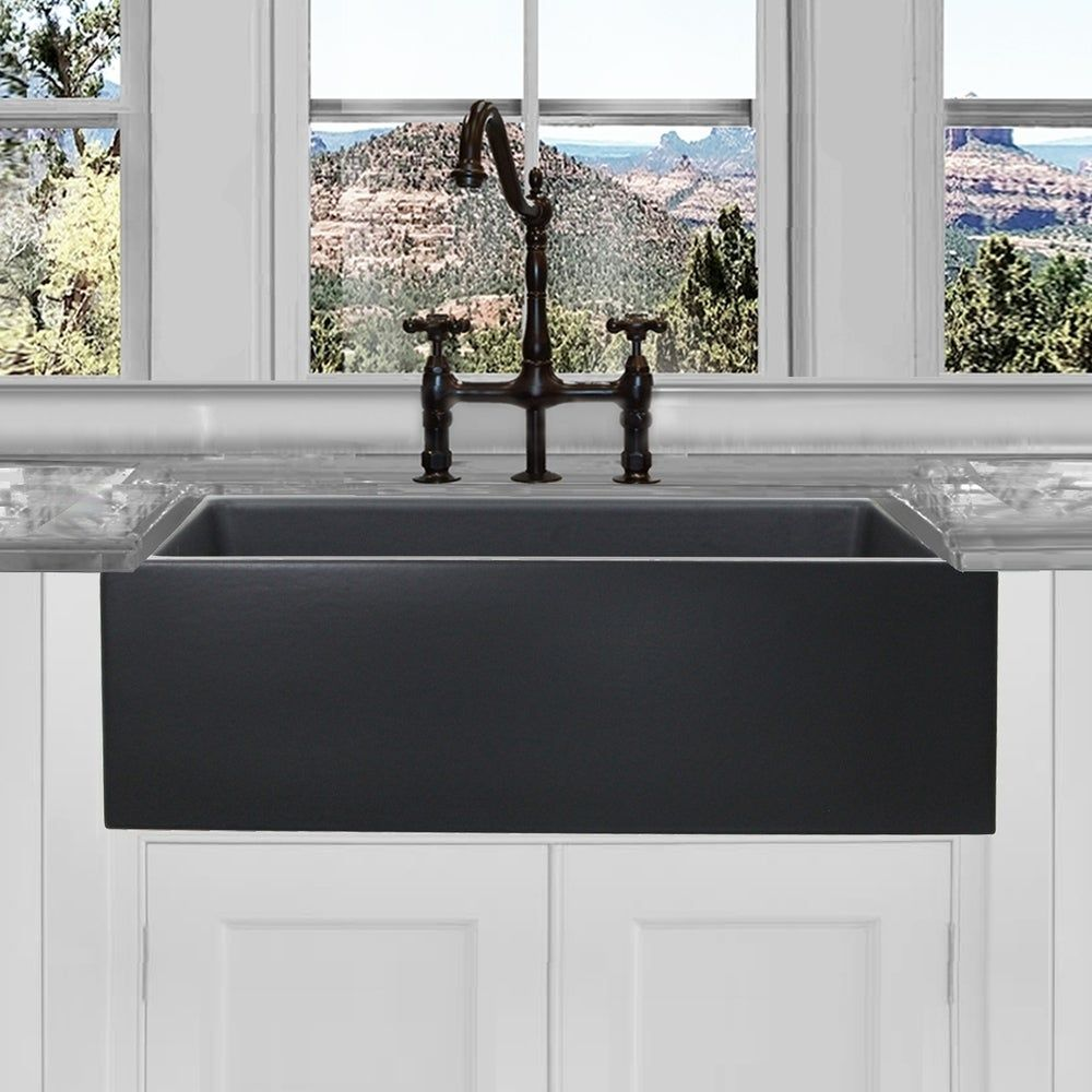 Online Shopping Bedding Furniture Electronics Jewelry Clothing More In 2020 Farm Sink Matte Black Farmhouse Sink Kitchen