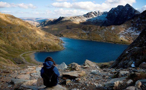 El Parque Nacional de Snowdonia - el mapa interactivo