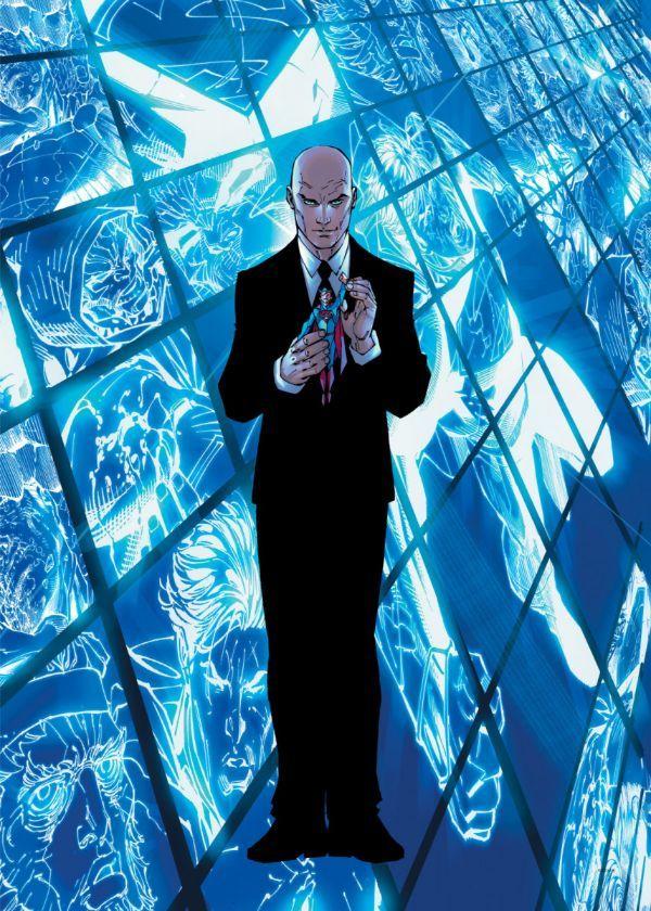 "Official DC Comics Jim Lee Collection Lex Luthor #Displate artwork by artist ""DC Comics"".… | Displate thumbnail"