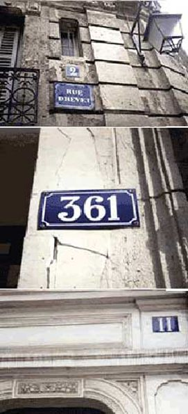 Vitreous Enamelled House Number Plates And Signs From France We Are The  Only Source Of The Traditional Style Of House Number Seen In The Old  Quarters Of ...