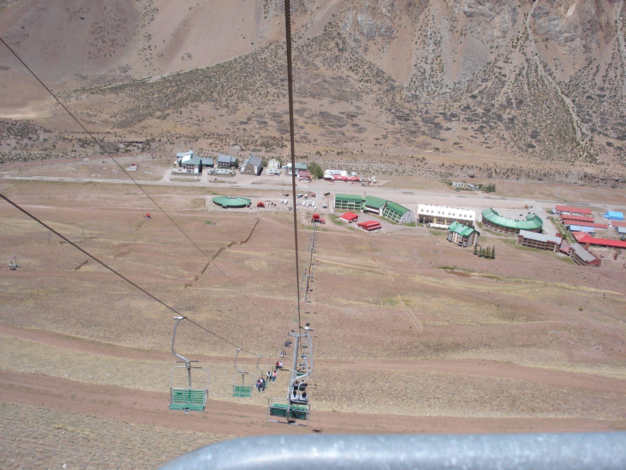 Centro de Ski Los Penitentes en Los Penitentes, Mendoza