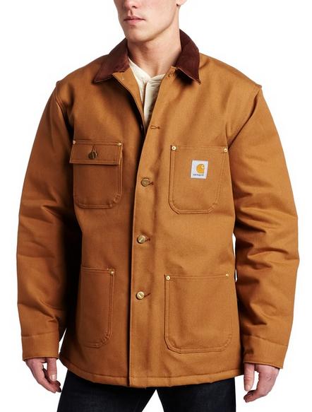 Carhartt Heavy Duty Chore Winter Jacket, ways to say warm in ...