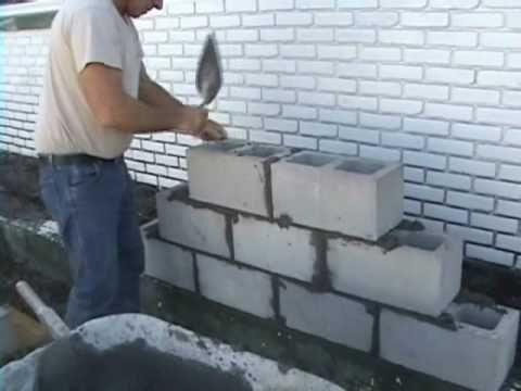 Ez Concrete Cement Cinder Block And Brick Laying Using Joint Spacers Brick Laying Cinder Block Walls Concrete Blocks