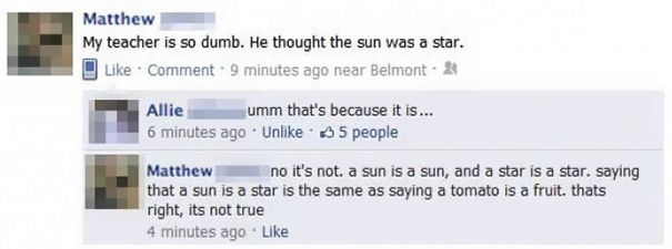 Of The Worst Facebook Fails Ever Funny Facebook Status - 25 hilarious facebook fails ever