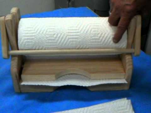 Paper Towel Holder, Under Cabinet Wooden Paper Towel Holder   YouTube