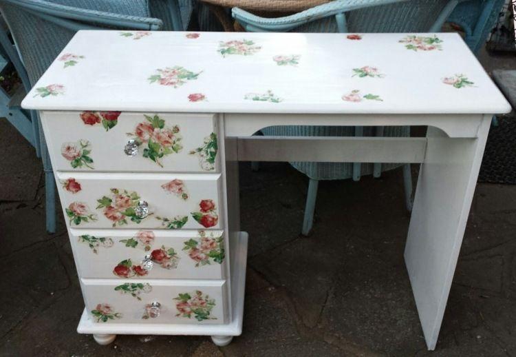 Vintage möbel selber machen  Vintage Möbel selber machen mit Decoupage-Technik | Ideen ...