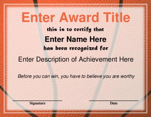 basketball certificates for team Like & Repin. Follow Noelito Flow ...