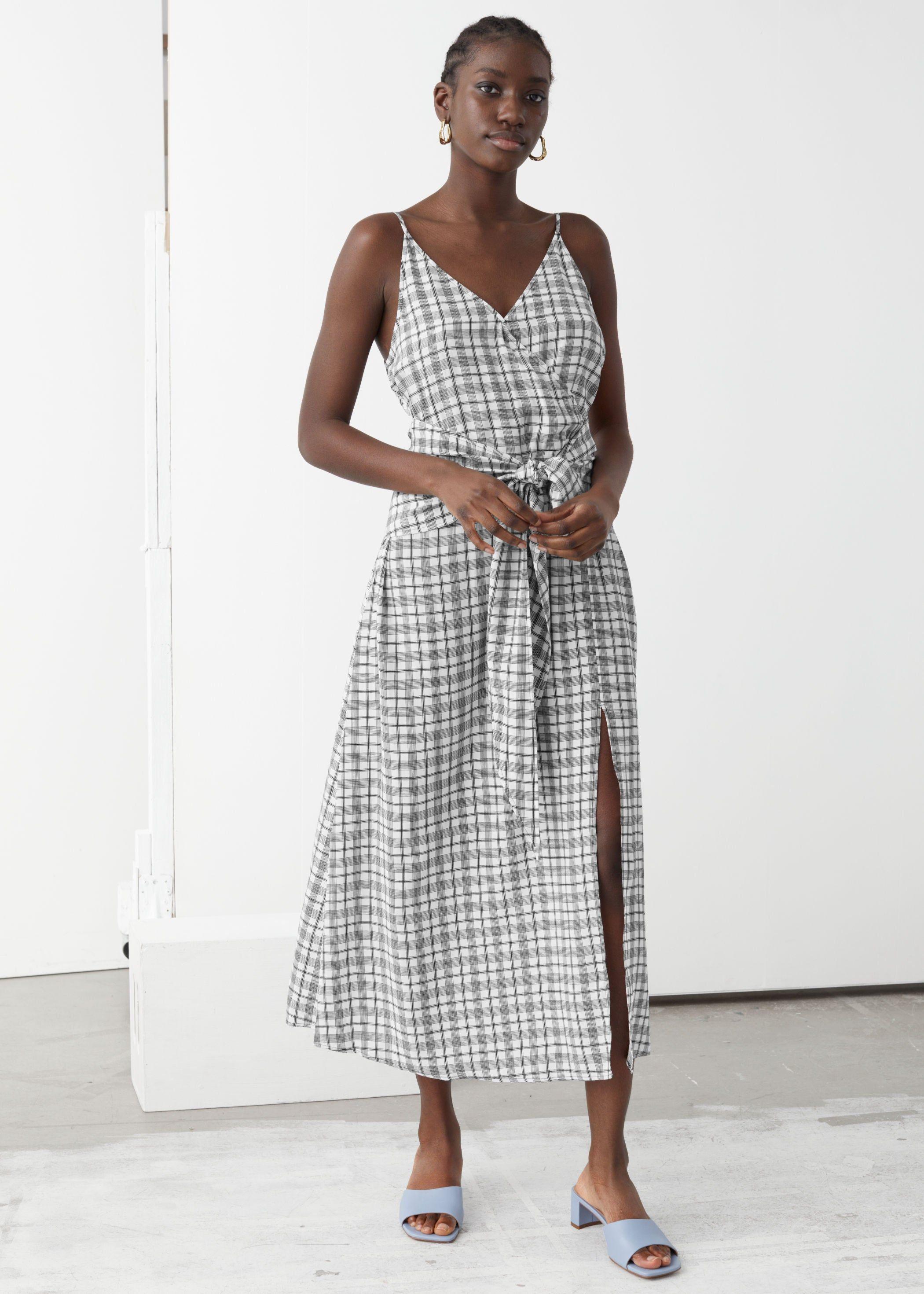 So Many New Dresses Added To The Other Stories Summer Sale Midi Dress V Neck Midi Dress Dresses [ 2940 x 2100 Pixel ]