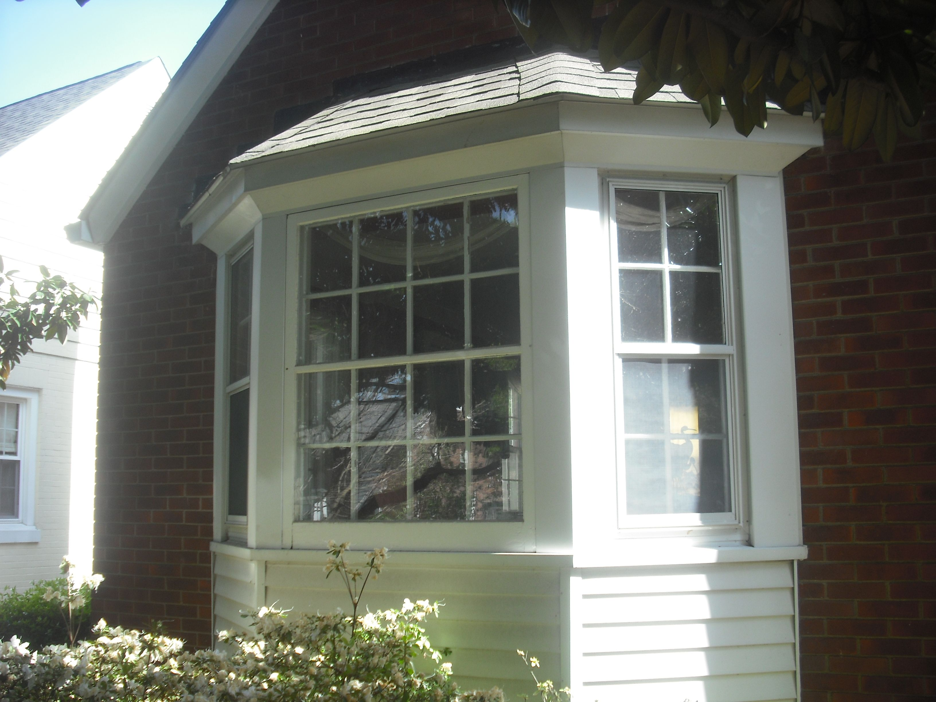 Bay Window Siding Options These Windows Are Made By Marvin And Doors Installed