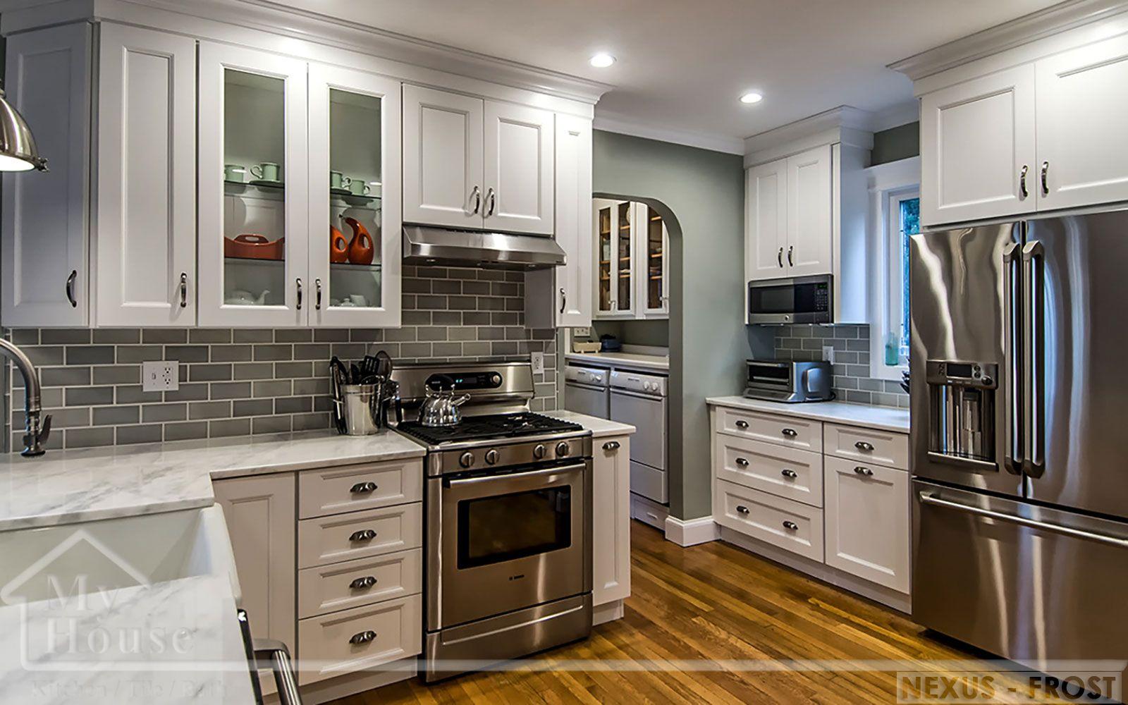 Fabuwood Nexus Frost Kitchen Cabinets Best Cabinet Deals Home DIY - Kitchen cabinet deals