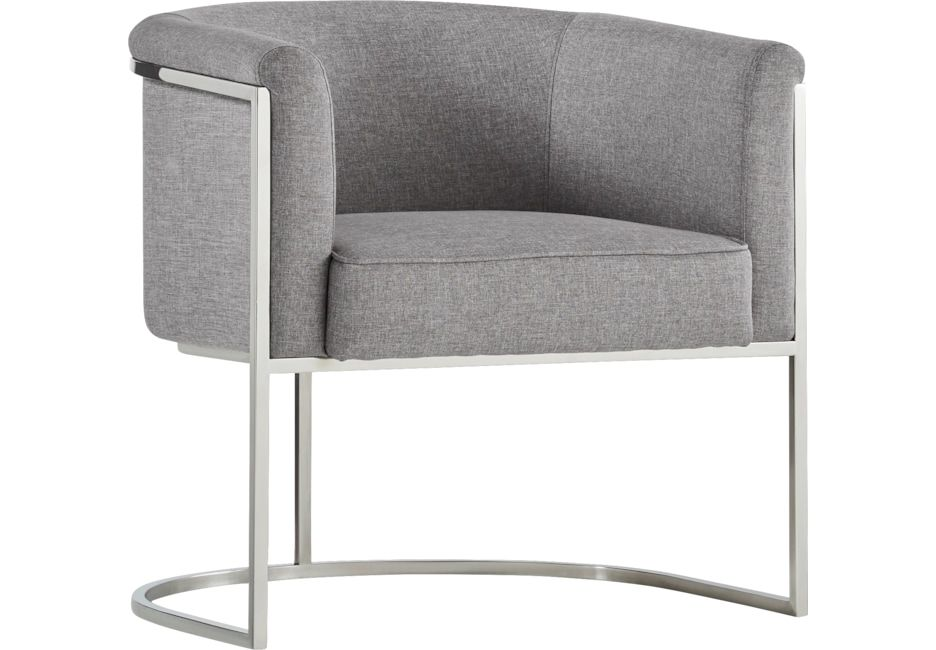Edgeworth Gray Accent Chair Accent Chairs Accent Chairs For