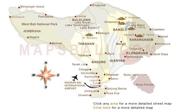 Map of bali bali island of the gods pinterest ubud bali experiance bali a visual guide in ubud pritis passport gumiabroncs Gallery