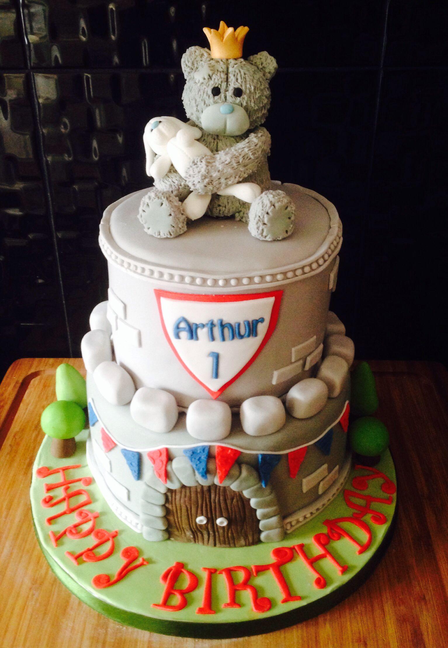 Arthurs first birthday cake x King Arthur themed My cakes Ive