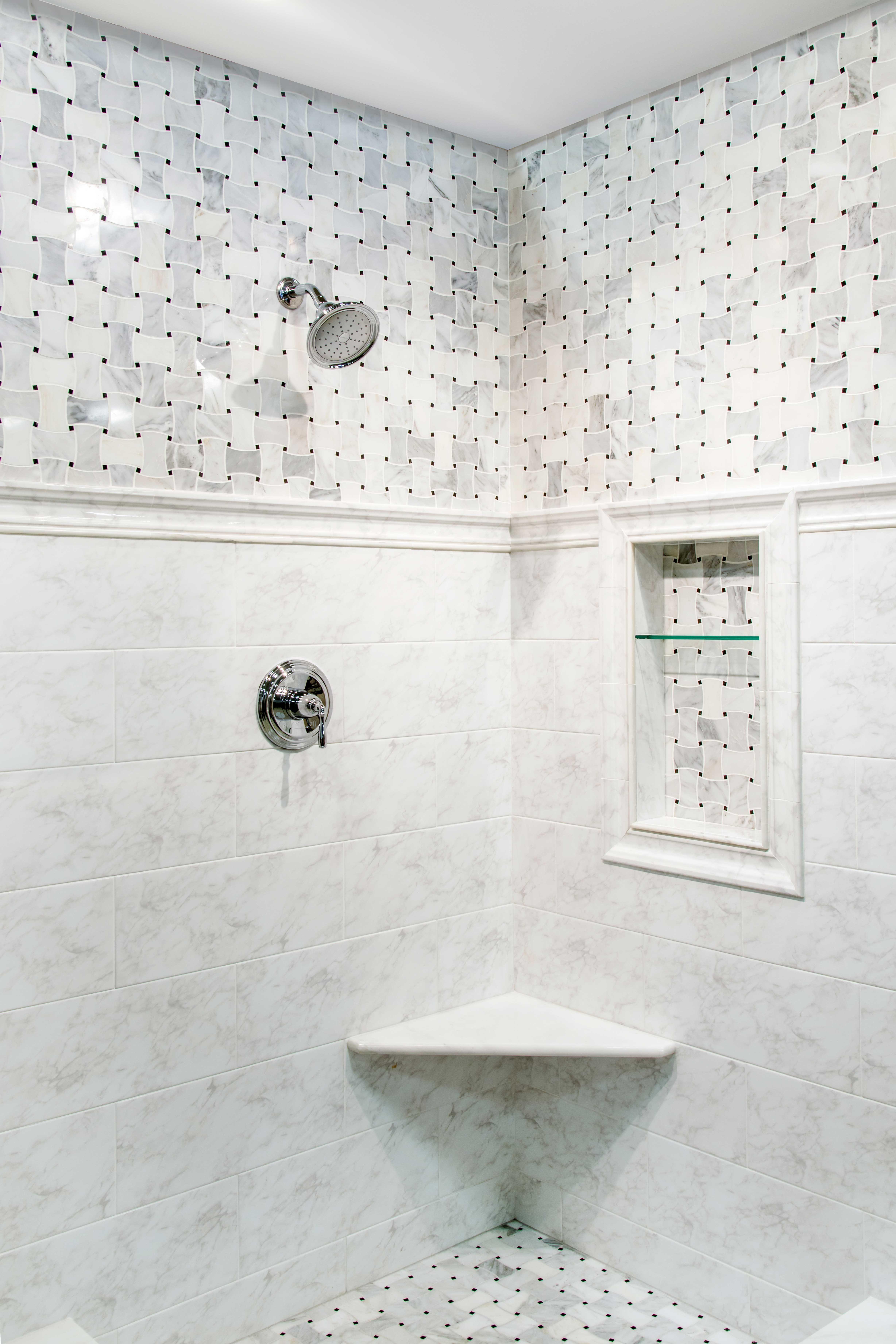 34 Luxury Ceramic Tiles Bathroom Patterned Bathroom Tiles