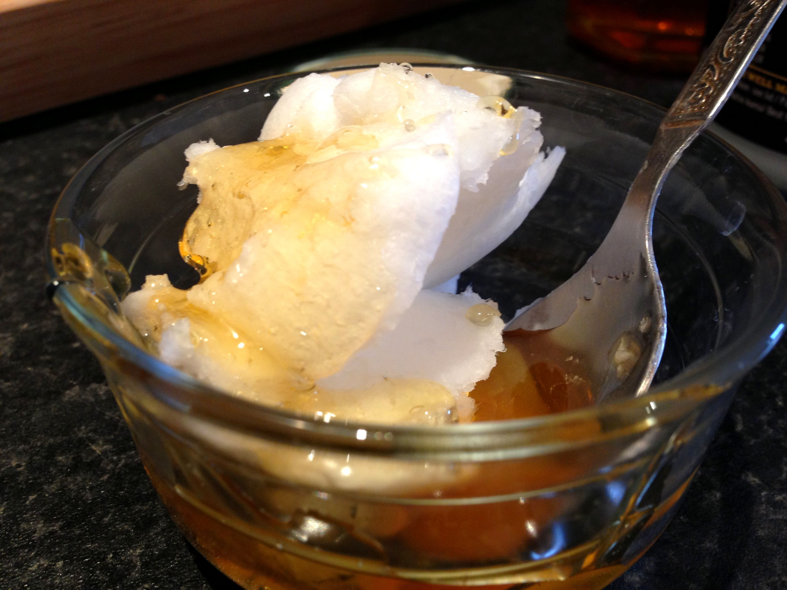 DIY Conditioner - coconut oil, honey