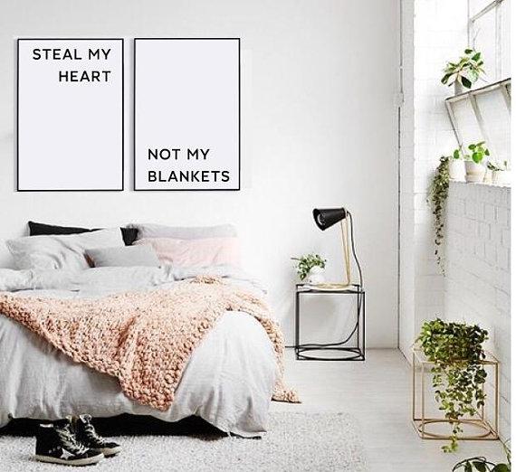 Master bedroom decor, Wall decor, Funny bedroom prints ...