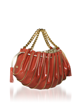 Shell Bag Style YEW396 YC367 Zipper detail along outside of bag Chain handles Tassels on either end 995 00 598 00 - Stylehive
