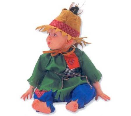 15 Cutest Baby Costumes for Halloween - halloween baby costumes - scarecrow halloween costume ideas