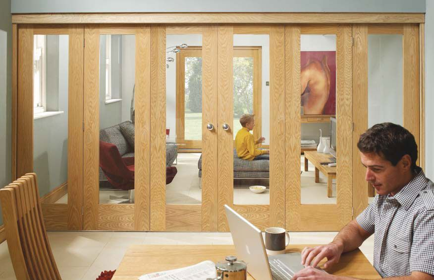 Folding doors room dividers internal folding sliding for Internal folding doors systems