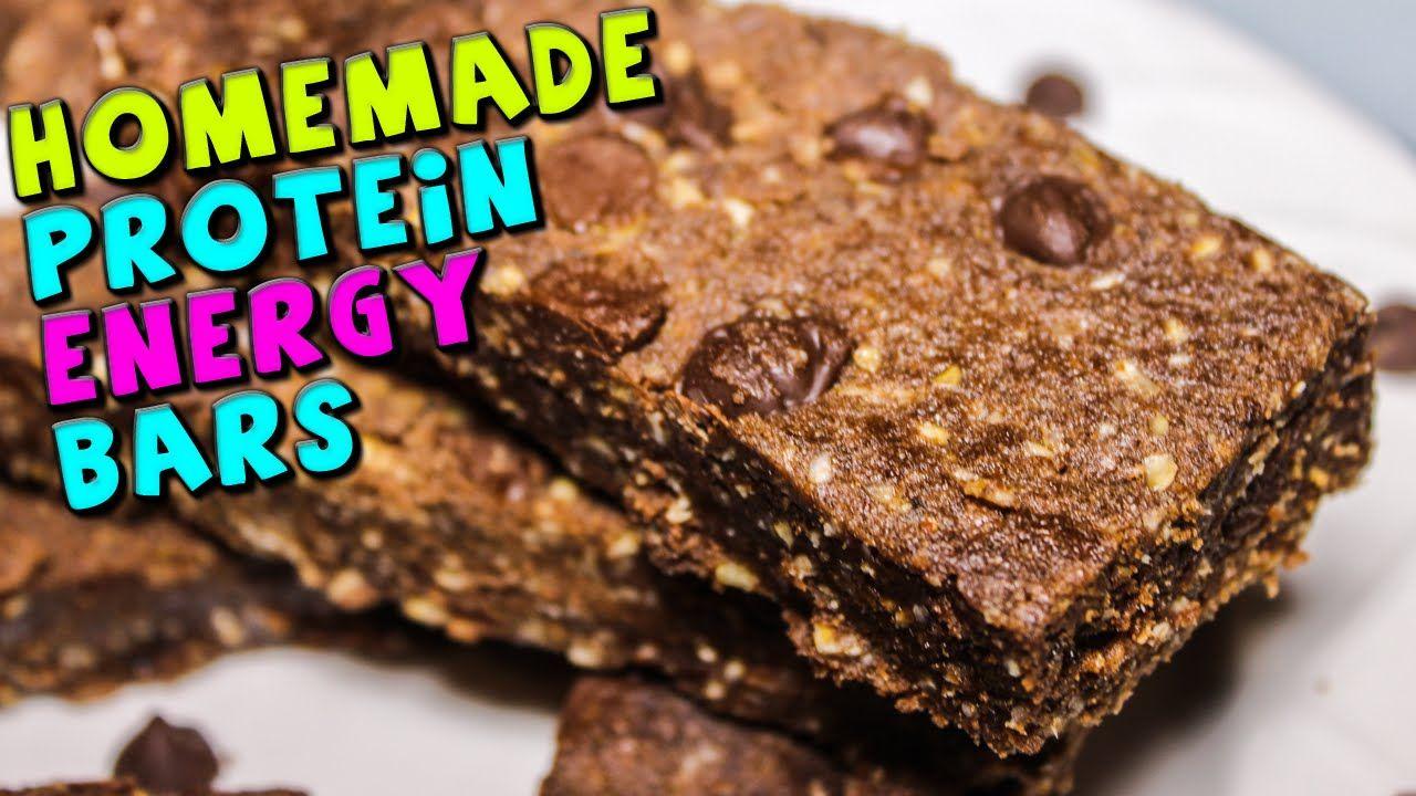 Homemade Protein Energy Bars Recipe Energy Bars Recipe Protein Bars Homemade Protein Bar Recipes
