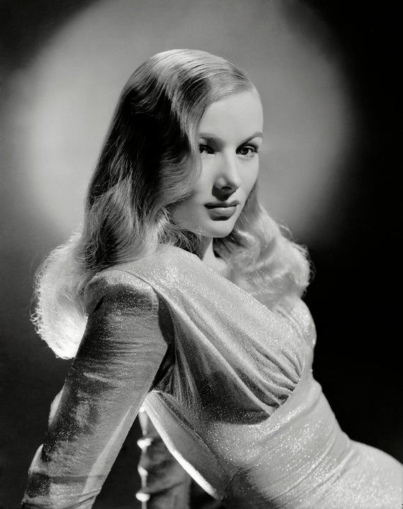 Veronica Lake - Hollywood Icon and Actress - 40 Trading Cards Set #hollywoodicons