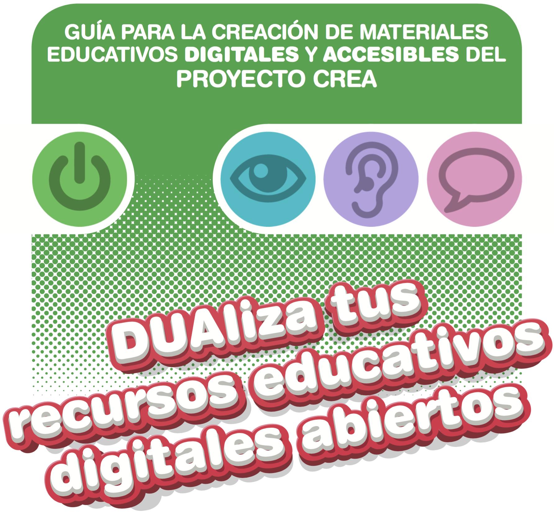 Guía Para La Creación De Materiales Educativos Digitales Y Accesibles Material Educativo Recursos Educativos Digitales Recursos Docentes