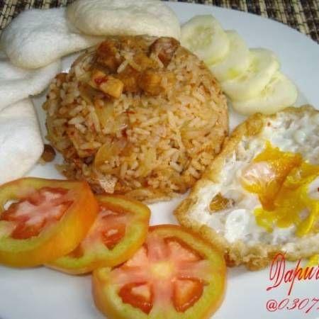 Resep Nasi Goreng Ikan Gabus Asin | Makanan, Resep, Resep masakan