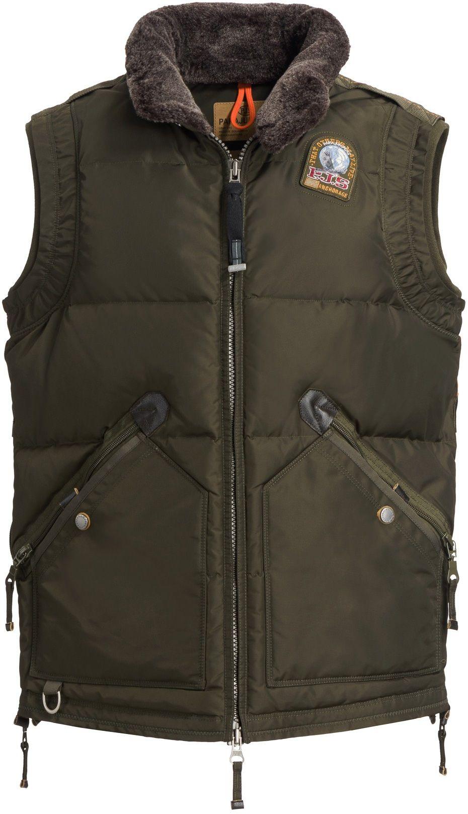 Parajumpers Kobuk Vest Mens Winter jackets, Canada