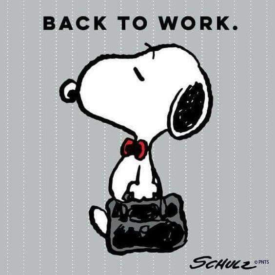 back to work snoopy and friends pinterest snoopy peanuts rh pinterest com back to work privacy filter back to work after 6 months