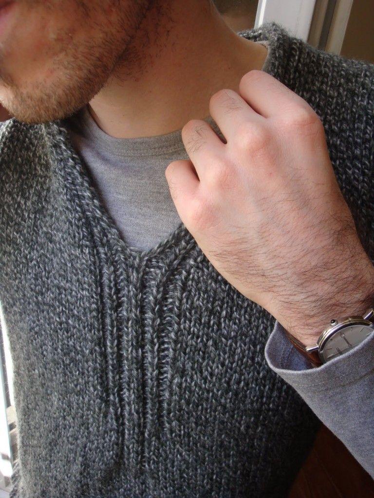 modèle tricot débardeur homme | Debardeur