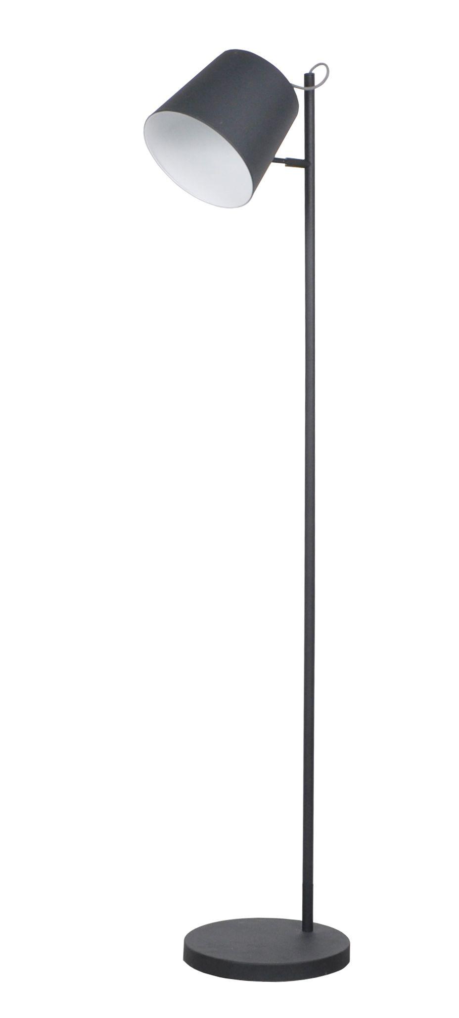 Buckle head floor lamp Black   Black floor lamp, Lamp