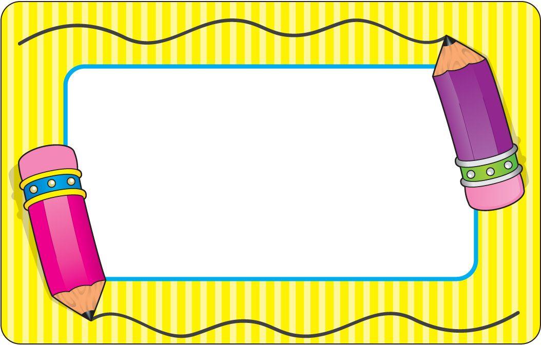 preschool border templates