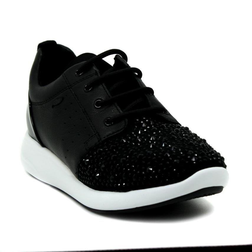 Elevado Derritiendo Agradecido  Zapatillas #black Geox   Zapatillas mujer, Zapatos, Zapatillas