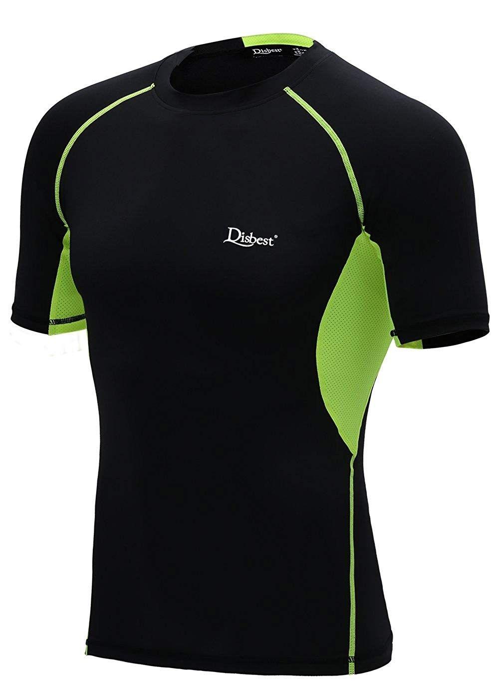 Men's Sport T Shirt Quick Dry Short Sleeves Performance